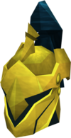 Rune full helm (Gilded) detail