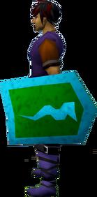 Rune kiteshield (Guthix) equipped
