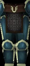 Rune platelegs (Armadyl) detail
