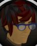 Stylish glasses (blue) chathead.png