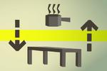 Teak kitchen table (flatpack) detail