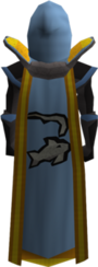 Trimmed fishing cape