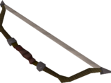 Willow composite bow