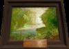 Antique painting detail