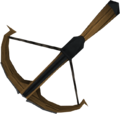 Black 2h crossbow detail