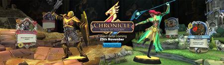 Chronicle Closed Beta head banner
