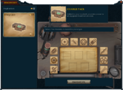 Discovery interface (step 1)