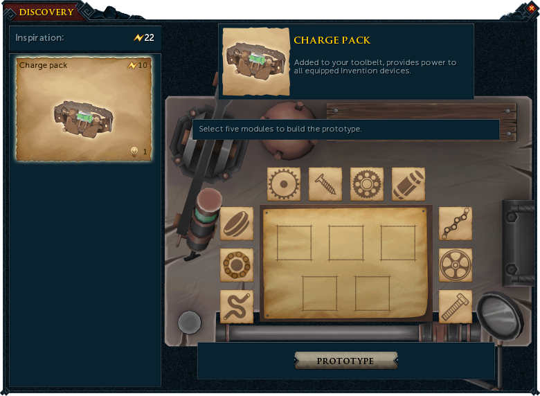 Discovery runescape wiki fandom powered by wikia discovery is a mechanic of the invention skill where players research blueprints of materials devices and machines used in invention malvernweather Choice Image