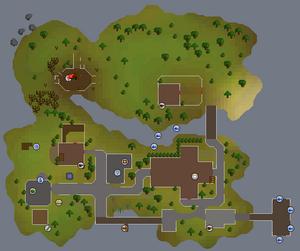 Mapa de entrana