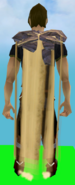 Sand cape equipped