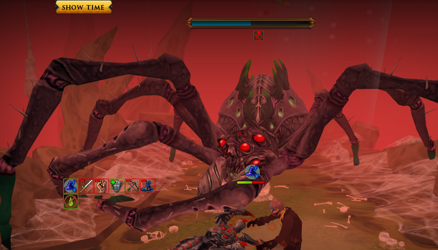 File:Unsuccessfully dodging Araxxor's charge.png
