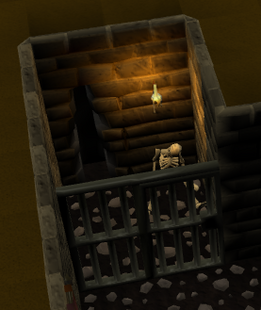 Draynor manor jail cell