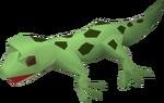 Gecko (green) pet