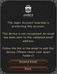 JAG protection email verification