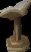 Oak-lectern