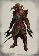 Primal armour concept
