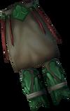 Primeval robe legs detail
