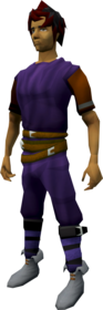 Ranger boots (white) equipped