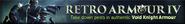 Retro Armoury IV lobby banner
