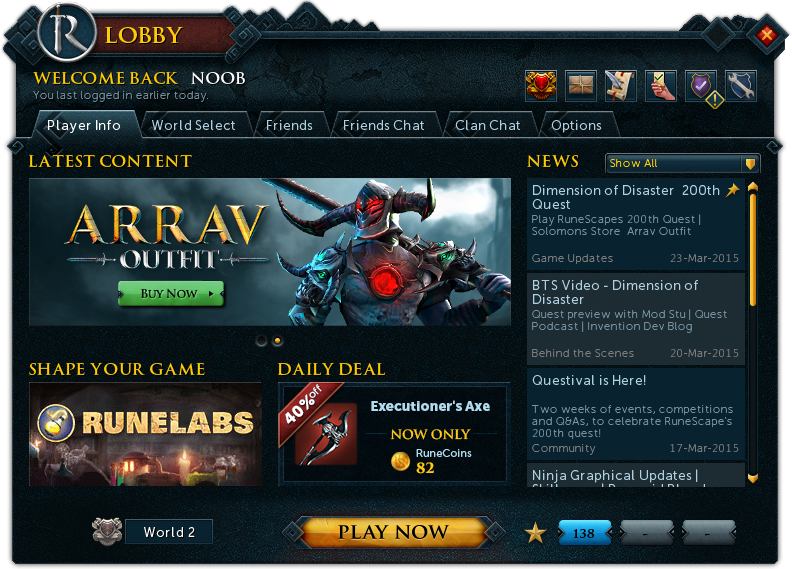 Runescape Lobby Runescape Wiki Fandom Powered By Wikia