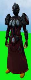 Tectonic armour (blood) equipped