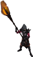 Zamorakian warlock 2