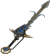 Augmented Saradomin godsword detail