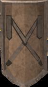 Basic decorative shield detail