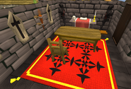 Black Knights' Fortress altar historical