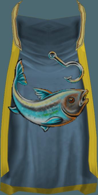 Fishing cape (t) detail