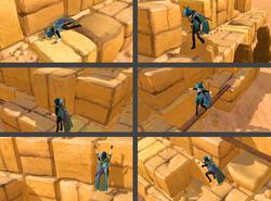 Pirâmide de Agilidade obstáculos