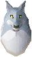 Spirit wolf detail