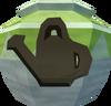 Strong farming urn (r) detail