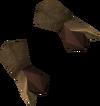 Bronze gauntlets detail