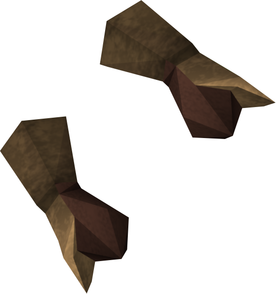 Bronze gauntlets detail