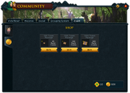 Community (Rune Capers) interface 2
