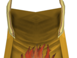 Firemaking cape