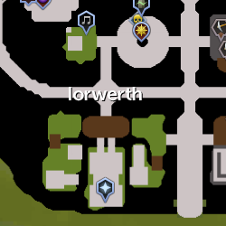 Iorwerth Clan map