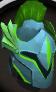 Rune full helm (Guthix) chathead