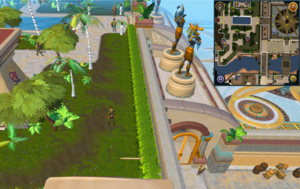 Scan clue Menaphos Imperial district just east of Shifting Tombs entrance