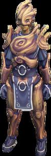 Splitbark armour equipped female