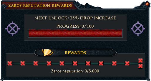 Zaros Reputation Rewards