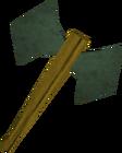 Adamant battleaxe detail old