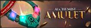 Alchemist's amulet last chance lobby banner