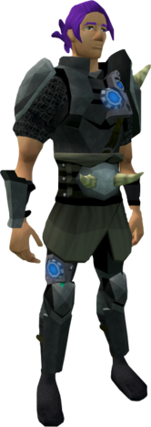 Augmented Torag's equipment equipped