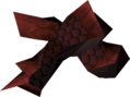 Blessed dragonhide vambraces (Zamorak) detail.png