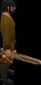 Bronze longsword equipped