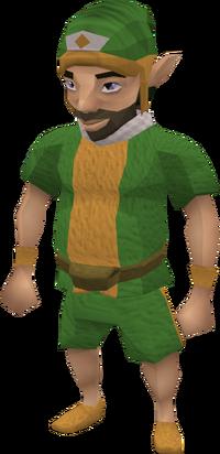 Gnome delivery man