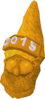 Golden gnome hat 2015 detail