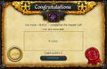 Hazeel Cult reward during quest.png